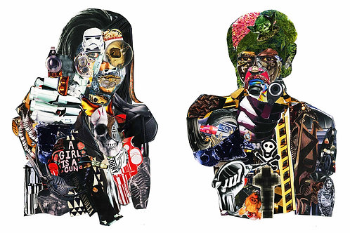 Pulp Fiction - Collage