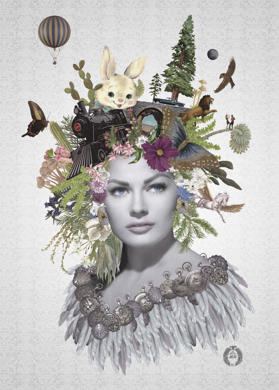 Collage Print Version (Anita Ekberg)