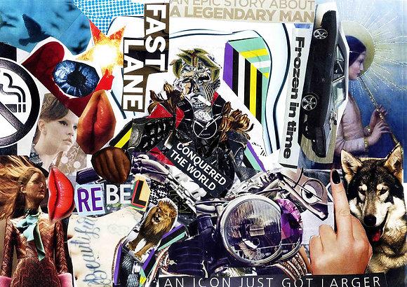 James Dean - Collage