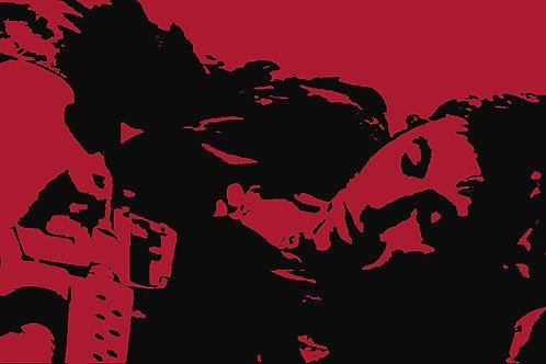 Scarface Sleeps (Red,Yellow,Orange,Pink)