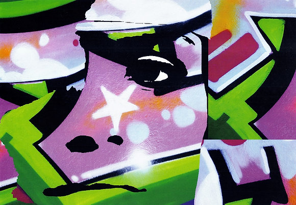 Gamora, Turk 182  from Agent X's abstract artworks at Deep West Gallery
