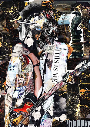 Jimmy Page - Collage