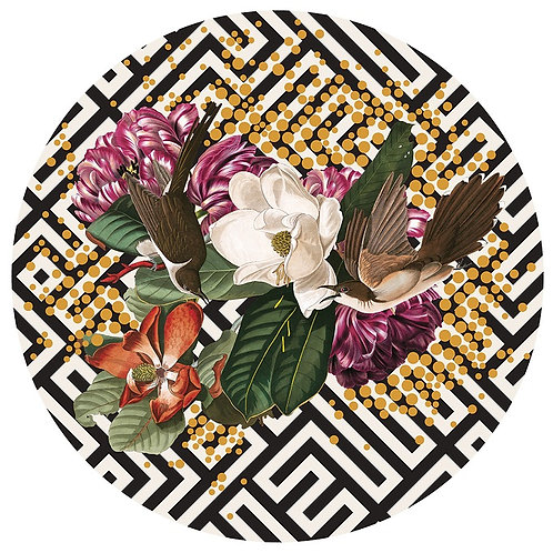 Mixed flowers, Street art print, from Alexandra Gallagher at Deep West Gallery