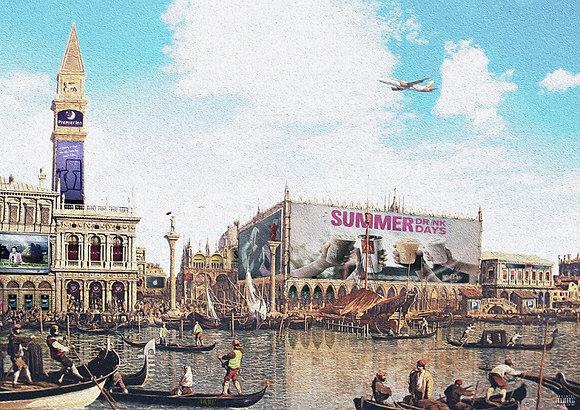 Lake market, Rotterdam from Gary John Jones digital artwork at Deep West Gallery