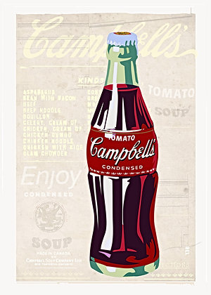 cola poster, Giclee print from Tony Leone, Digital and Pop art artwork at Deep West Gallery