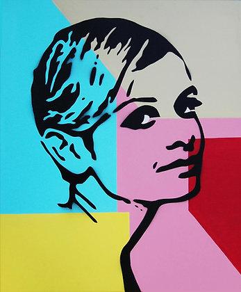 Girl  Portrait, original painting