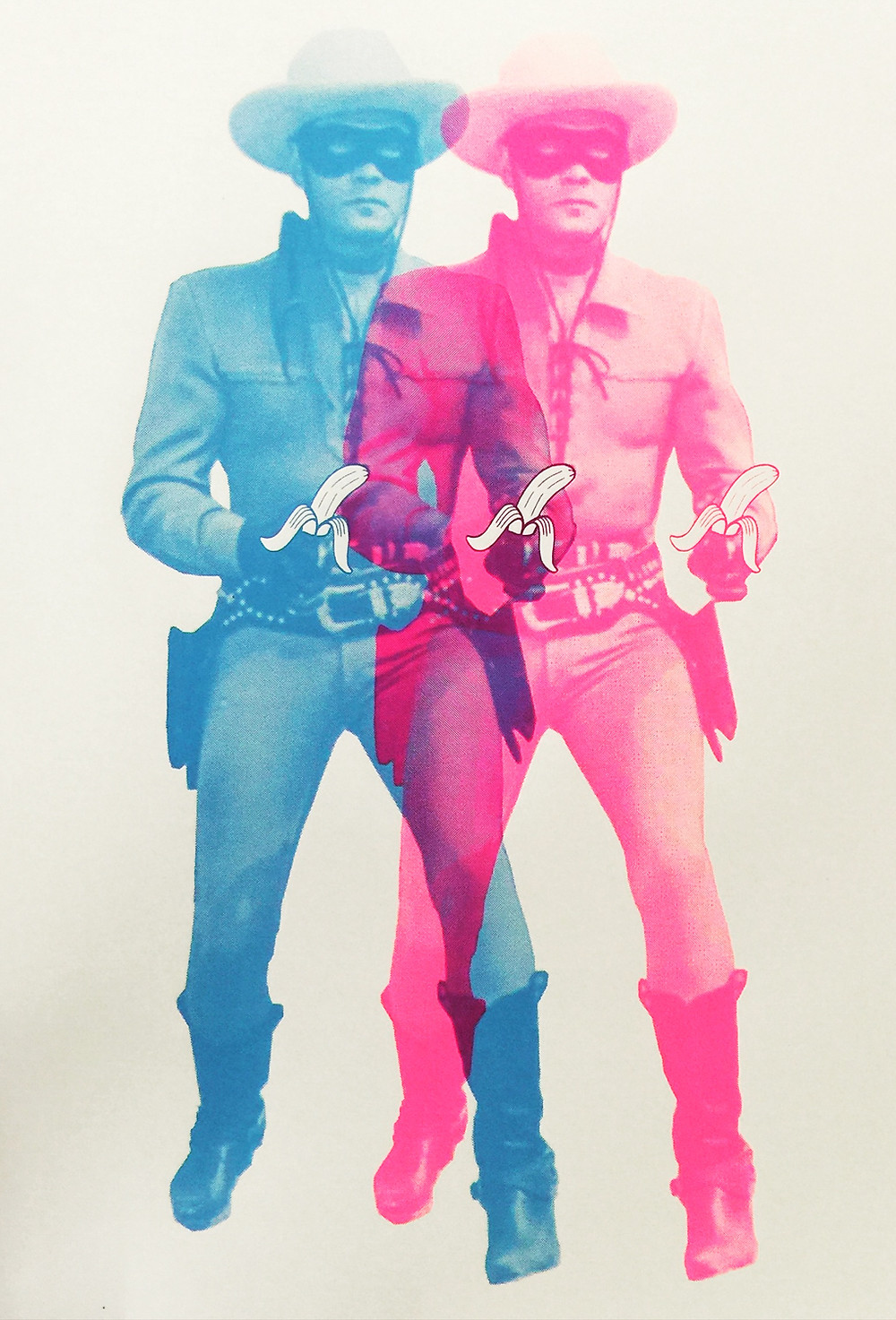 long ranger,pink , blue