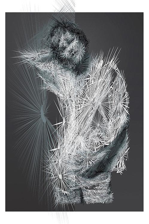 Vanessa portrait, Digital art, urban artwork by Andrea Visconti at Deep West Gallery