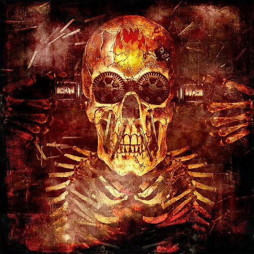 Skull - Dark art by Deadmansdust at Deep West Gallery