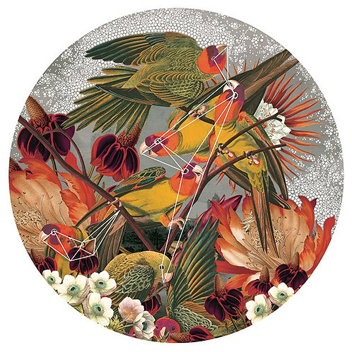 Mixed flowers and beauty street art print, from Alexandra Gallagher at Deep West Gallery