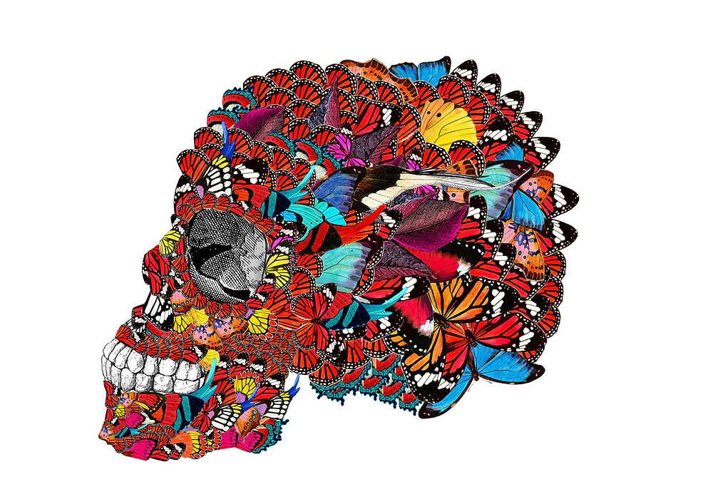 Mexico, skull, mcqueen