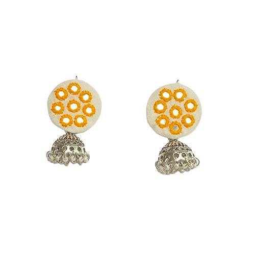 Sunflower Jhumki Earrings