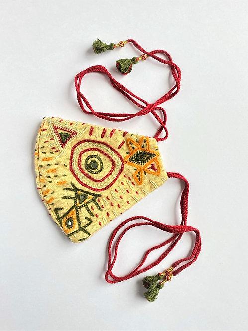 Rabari Yellow Face Mask