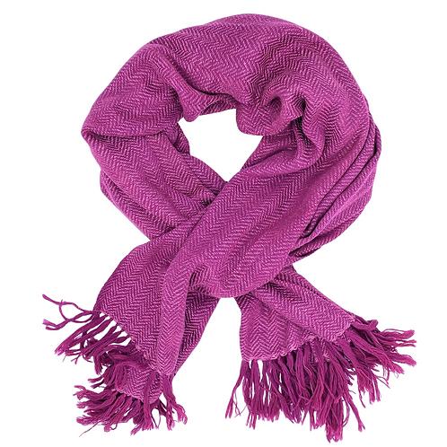 Handwoven Wool & Eri Silk Scarf