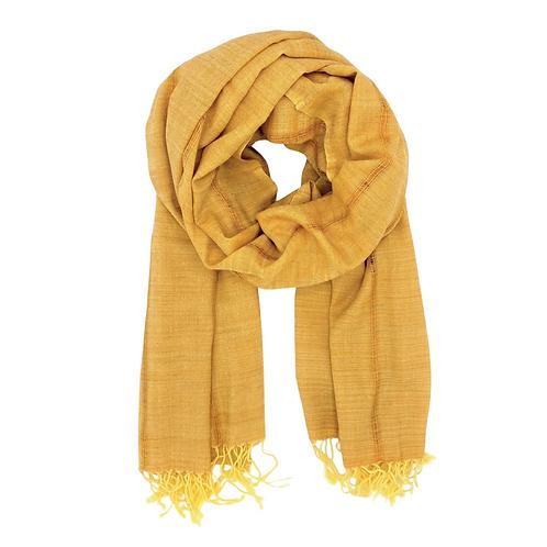Handwoven Cotton & Eri Silk Scarf