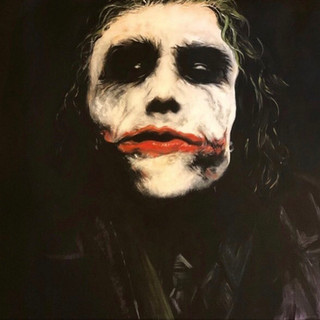 """Why So Serious 12""""x18"""""""