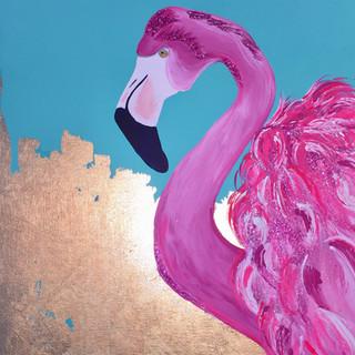 Sassy Flamingo