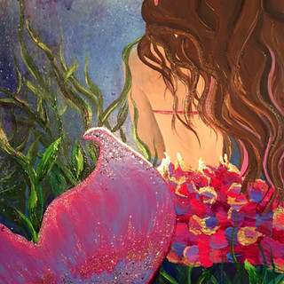 "The little Mermaid 22""x28"""