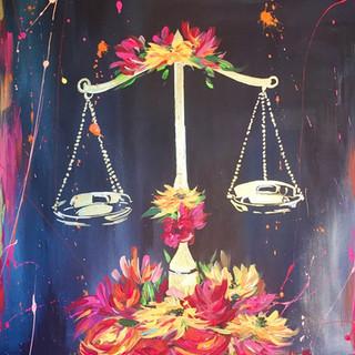 "Justice 16""x20"""