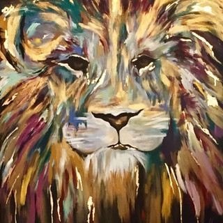 Mysterious Lion