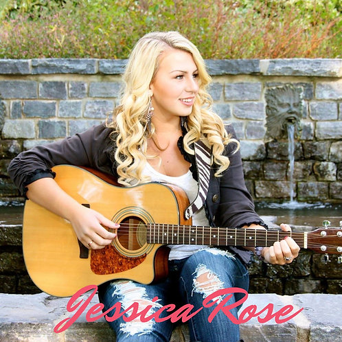 Jessica Rose Signed EP Purchase Front Cover