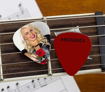 Rose Buds Guitar Pick