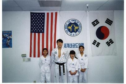 Master Hwang and His Grandmaster J. Kim