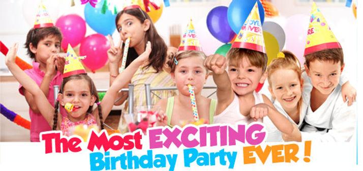 Kids' Exciting Birthay Party for Taekwondo