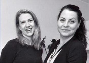 Maria Lundgren och Sandra Bäckström TIDSAM