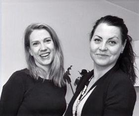 Maria Lundgren och Sandra Bäckström TIDSAM Piteå