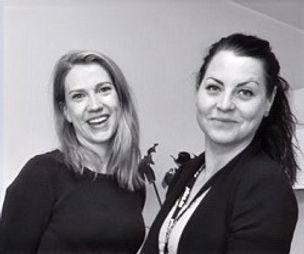 Maria Lundgren och Sandra Bäckström, TIDSAM