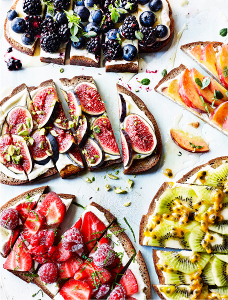 Fruit-Topped-Open-Sandwiches-Kim-Morphew