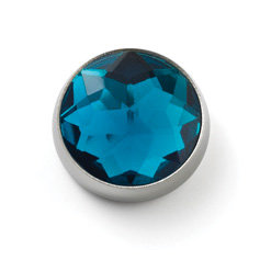 MOGO Birthstone Charms - Dec Blue Topaz
