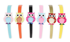 APJ - Bbay Owl Hairband set of 6 - AP3021