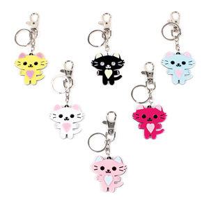 APJ - Pretty Kitty Key Chain set of 6 - AP5028