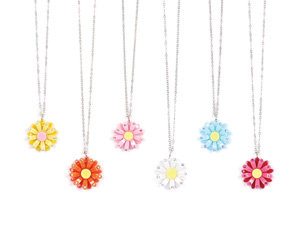 APJ - Daisy MINI Necklace set of 12 - AP6026-3