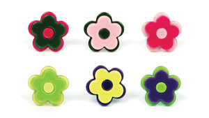APJ - Modern Flower Ring set of 6 - AP8012