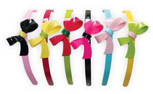 APJ - Bow Hairband Set of 6 - AP3002