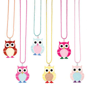 APJ - Baby Owl Necklace set of 6 - AP6021