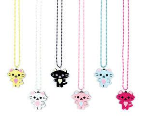 APJ- Pretty Kitty Necklace set of 6 - AP6028