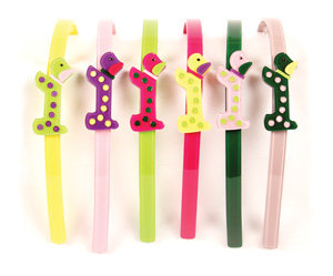 APJ - Spotty Dog Hairband Set of 6 - AP3015
