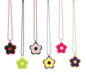 APJ - Modern Flower Necklace set of 6 - AP6012