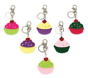 APJ - Cupcake Keychain Set of 6 - AP5005