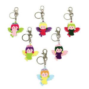 APJ - Angel Key Chain set of 6 - AP5001