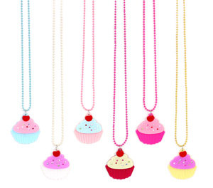 APJ - Cupcake Necklace Set of 6 - AP6005