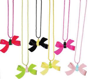 APJ - Bow Necklace Set of 6 - AP6002