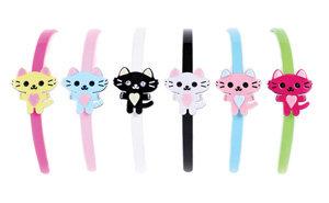 APJ - Pretty Kitty Hairband set of 6 - AP3028