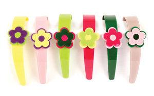 AAPJ - Modern Flower Hairband set of 6 - AP3012