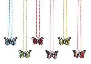 APJ - Butterfly Necklace set of 6 - AP6031