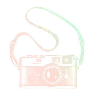 Shalom Photography Camera Illustration